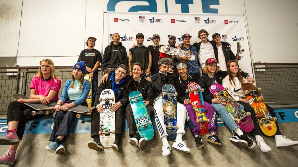 USA Skateboarding Olympics